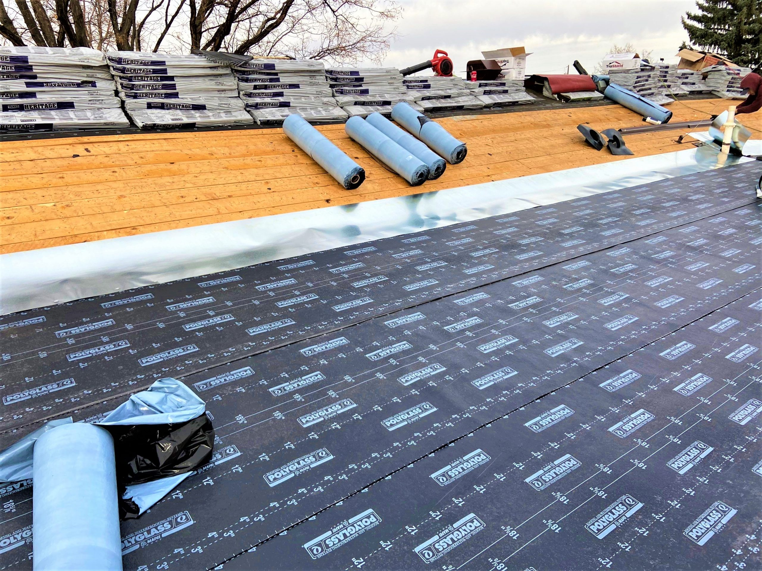 Full Reroof – Multiple Structure